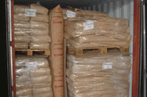 Kraft paper dunnage bags